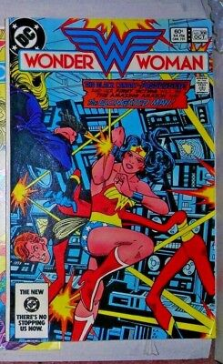 Wonder Woman 308 Dc Comic October 1983 Only One On Ebay Uk Blck Canary Elongated