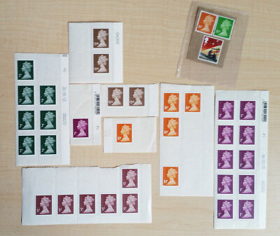 Various UK stamps NEW and DISCOUNTED (worth £6.02), unused with gum