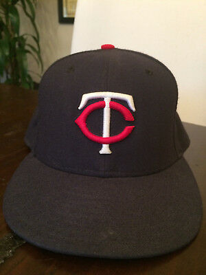 43679fada715a ... norway minnesota twins navy blue new era 59fifty fitted hat size 7 1 4  4b326 3560f