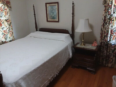 Pennsylvania House 6 Pc Solid Cherry Bedroom Suite 1977 Purchased Very Nice