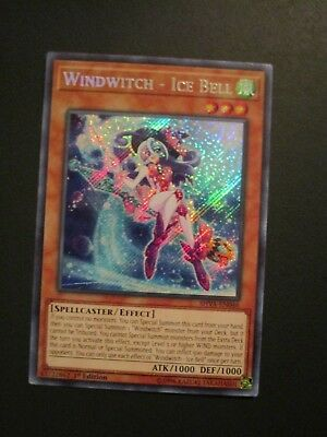 Yugioh! Windwitch - Ice Bell - SHVA-EN046 - Secret Rare - 1st Edition Near Mint,