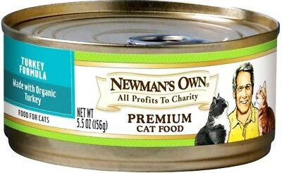 Newman's Own Turkey Formula For Cats 24 X 5.5oz Ex: 06/11/2021