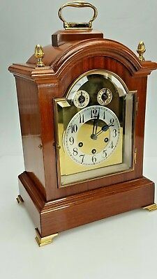 Large Stunning Antique Junghans Westminster Chime Musical Bracket clock
