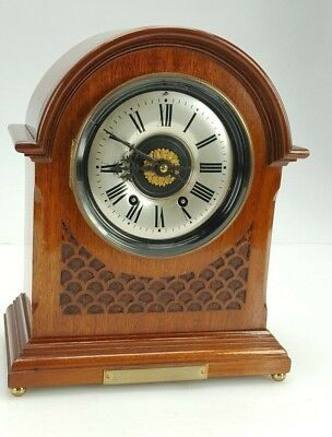 Antique Mahogany French striking Bracket Clock