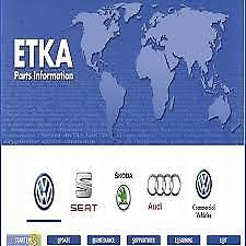 E.T.K.A. 8 EPC  VW SEAT SKODA AUDI - Multilanguages LAST VERSION