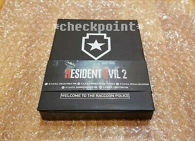 Resident Evil 2 Remake LIMITED EDITION STARS RPD COLLECTOR'S PIN BADGE -Capcom