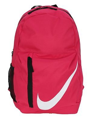 34f7ed840d6 NWT NIKE ELEMENTAL BACKPACK Young Athletes RUSH PINK School Book Bag  BA5405-622