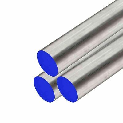 """6061-T6511 Aluminum Round Rod, 0.375 (3/8 inch) x 12 Feet (3 pieces, 48"""" long)"""