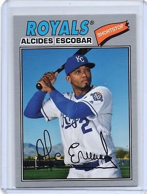 2018 Topps Archives  Silver #157 Alcides Escobar 97/99