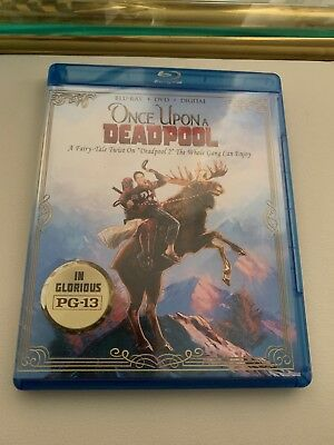 Once Upon a Deadpool (Blu-ray/DVD, 2018) [NO DIGITAL] NEW Local Pick-up Only