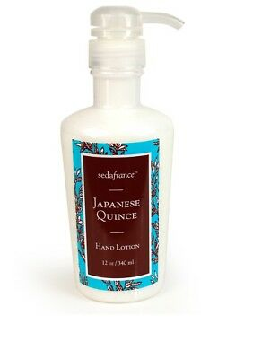 Seda France Japanese Quince Hand Lotion 340ml AN AMAZING FRAGRANCE..BEST PRICE