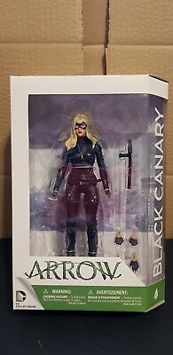 Dc Collectibles Arrow The Tv Series Action Figure #11 Black Canary