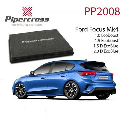 Pipercross Air Filter PP2008 for Ford Focus MK4 1.0 1.5 Ecoboost 1.5 2.0 Ecoblue