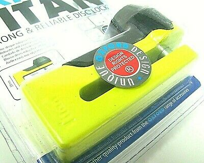 Oxford OF51 Titan Strong And Reliable Disc Lock - Yellow Motorcycle