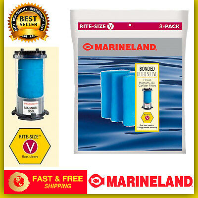 Marineland Bonded Filter Sleeve For Magnum 350 Canister Filter Products Hot Sale Fish & Aquariums