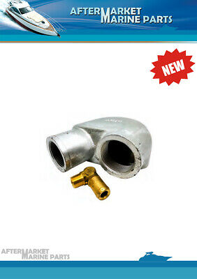 Mixing Elbow for Yanmar Marine GM Series, replaces#: 128990-13520,104214-13531