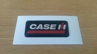 Case IH Gel/Dome Sticker/Decal (70x28mm)