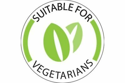 Vegetarian Food Labels Roll Of 1000 Labels Food Stickers Suitable For Vegetarian