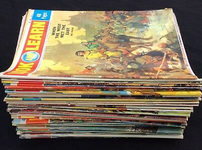 55 Vintage Look and Learn Magazines from 1972 and 1973