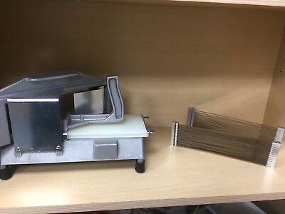 Stainless Steel Commercial Tomatoe Slicer With 2 Spare Brand New Blades