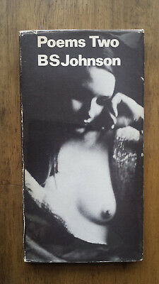 B S Johnson – Poems Two (1st/1st 1972 UK hb with dw) The Unfortunates Trawl BS