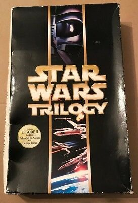Star Wars Trilogy Special Edition 6 Disc VCD Video Cd Box Set Rare Complete 2000