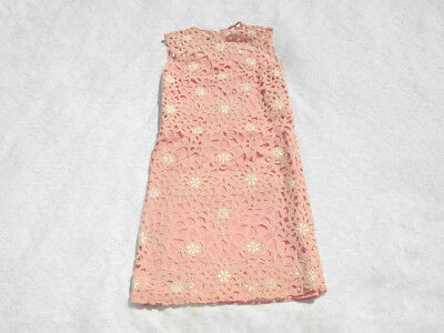 VINTAGE 1940's 1950's Floral Embroidered Party Dress Rockabilly Festival Pinup