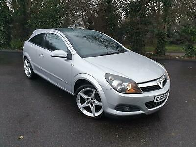 Vauxhall/opel Astra 1.8 Sri Silver 3 Door Coupe Petrol Manual 2007