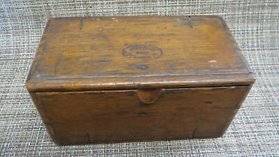 Antique Wooden Singer Sewing Machine Oak Puzzle Box
