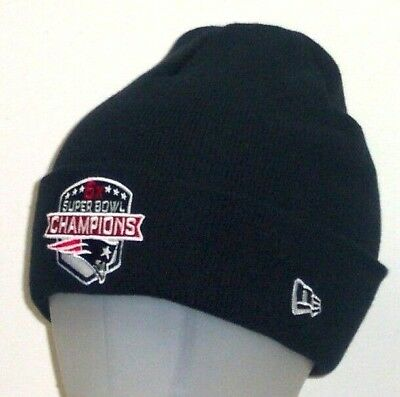 New England Patriots 6X Super Bowl Champions New Era Cuffed Winter Knit Hat