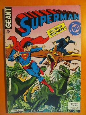 Superman Géant N° 16. L'homme éternel. Sagédition 100 pages