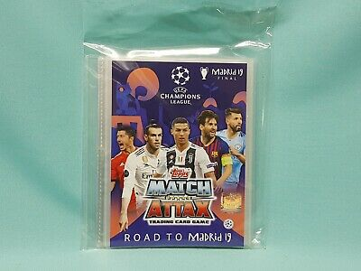 Topps Match Attax Champions League Road to Madrid 19  Mini Binder Sammelmappe