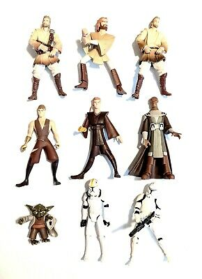 CHOOSE: 2003 Star Wars Tartakovsky/Clone Wars * Action Figures * Hasbro
