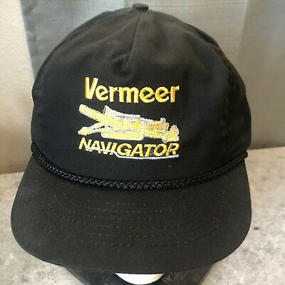 4a721cc872744e Vintage 90s snapback VERMEER Navigator baseball hat cap Swingster Made in  USA
