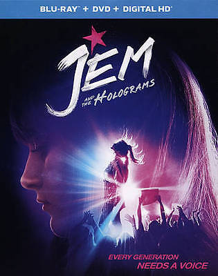 Jem and the Holograms [Blu-ray and DVD] NEW!