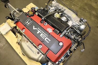 HONDA S2000 AP1 F20C 2.0L DOHC VTEC Engine 6 Speed RWD Transmission JDM 2000-03