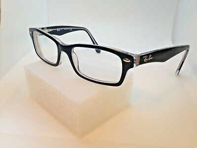 fbb0162539c Authentic Ray Ban RB1530 3529 Eyeglasses Sunglass Black Crystal Frames 48-16 -130