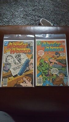 Wonder Woman #237 & 240 VF/NM DC COMICS 1977 2 BOOK LOT MOVIE