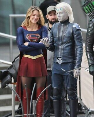 Melissa Benoist Rare New Supergirl Super Girl Tv Show 8X10 Photo Tyler Hoechlin