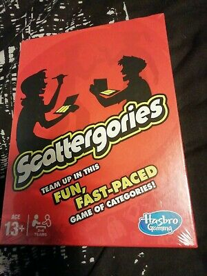 SCATTERGORIES HASBRO game BRAND NEW Shrink Wrapped