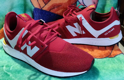 6652d89da NEW BALANCE 247 Liverpool FC 125th Anniversary Limited Edition Sneaker