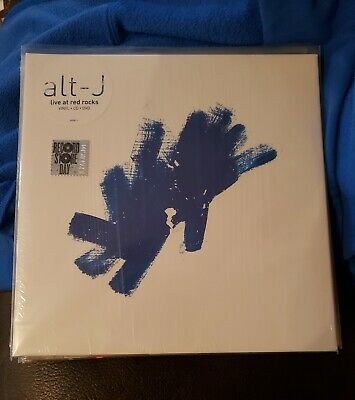 Alt-J - Live At Red Rocks 2 LP, 75678666643 RSD Blue Vinyl w/CD & DVD
