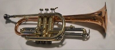 Conn Director Trumpet Coprion USA Shooting Stars Copper Bell