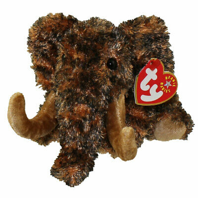 TY Beanie Baby - GIGANTO the Wooly Mammoth (6 inch) - MWMTs Stuffed Animal Toy