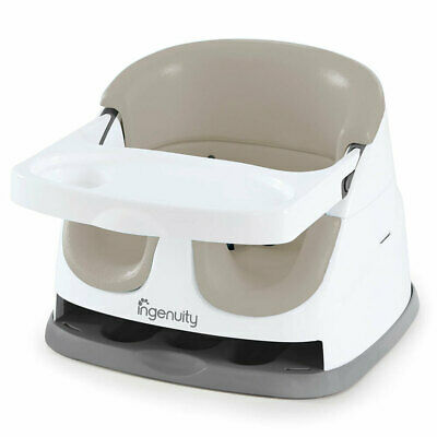 Ingenuity Baby/Infant/Toddler 6m+ Feeding Booster High Dining Chair/Seat Cashmer