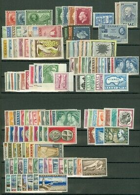 EDW1949SELL : GREECE Beautiful collection of ALL DIFF VF MNH CPLT SETS Cat $1410