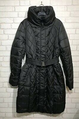 Mamalicious Yasmin Padded Maternity Coat - Black - Large - Bnwt - Maternity