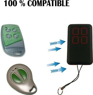Md15 Mando Garaje Compatible Con Forsa Rt1 Rt2 Rt4 Twin 433 Mhz