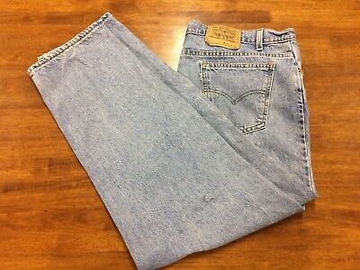Levi's / Levis 601 Jeans Mens Straight Leg  W36 L32 Great Condition - Free Post
