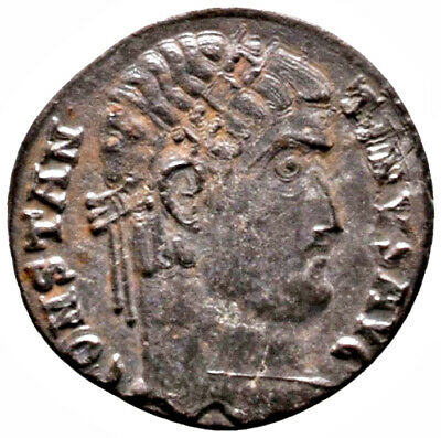 CONSTANTINE THE GREAT (331 AD) Unlisted Officina. Antioch #IU 1528